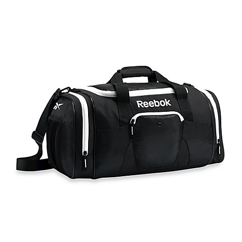 Reebok® 21-Inch Slimm Duffle in Black/White