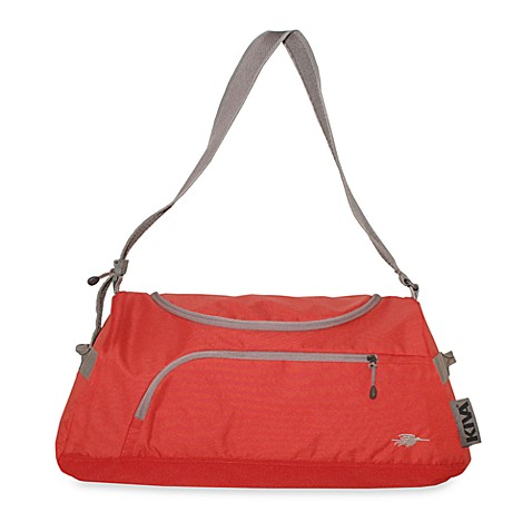 KIVA Packing Genius™ Stowaway Duffle in Persimmon