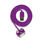 Kikkerland® Design Purple Monster iPhone®/iPod® Cable