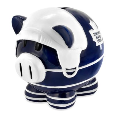 Toronto Maple Leafs Resin Piggy Bank