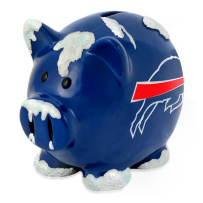 Buffalo Bills Resin Piggy Bank