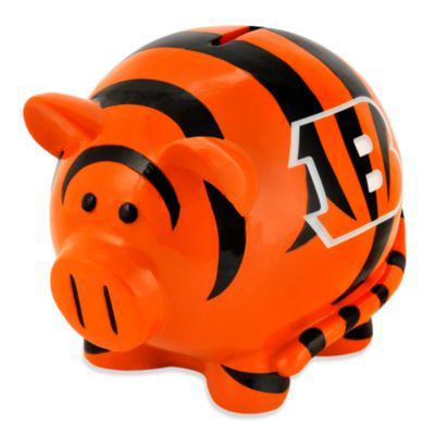 NFL Cincinnati Bengals Resin Piggy Bank