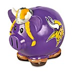 Minnesota Vikings Resin Piggy Bank
