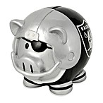 Oakland Raiders Resin Piggy Bank