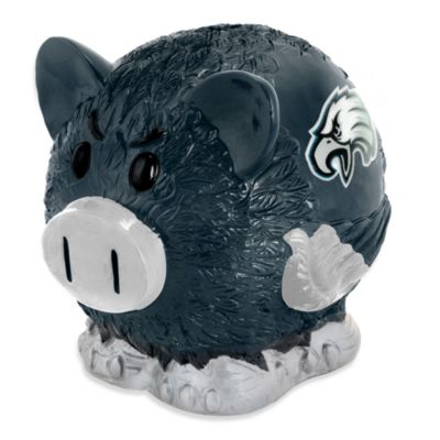 Philadelphia Eagles Resin Piggy Bank