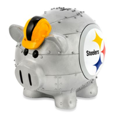 Pittsburgh Steelers Resin Piggy Bank