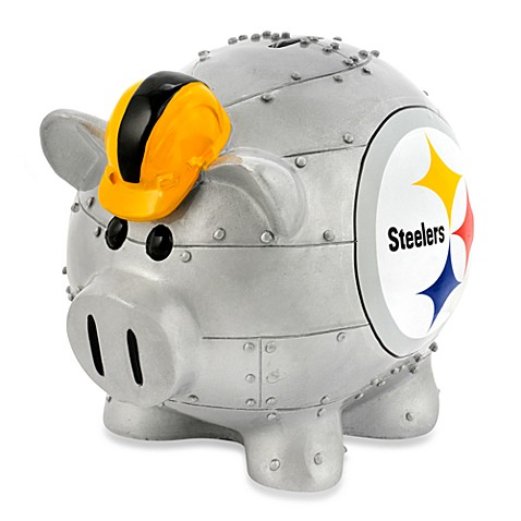 NFL Pittsburgh Steelers Resin Piggy Bank