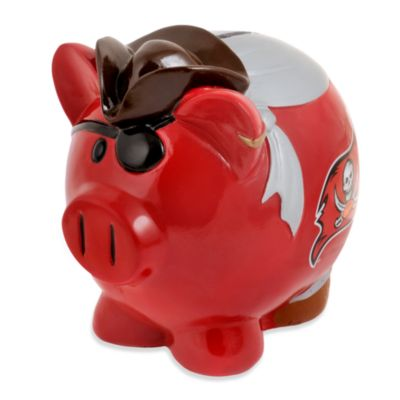 NFL Tampa Bay Buccaneers Resin Piggy Bank