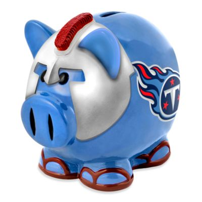 Tennessee Titans Resin Piggy Bank