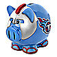 NFL Tennessee Titans Resin Piggy Bank