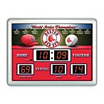 Boston Red SoxIndoor/Outdoor Scoreboard Wall Clock