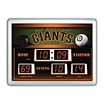 San Francisco Giants Indoor/Outdoor Scoreboard Wall Clock