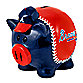 Atlanta Braves Resin Piggy Bank