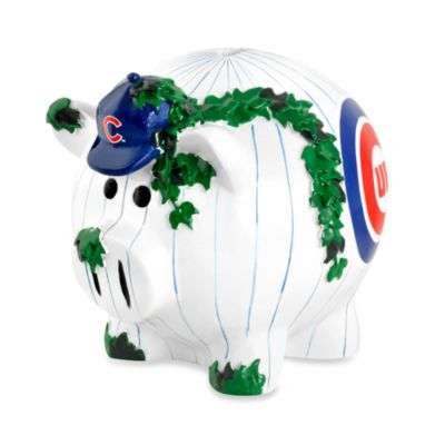 Chicago Cubs Resin Piggy Bank