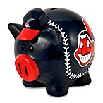 Cleveland Indians Resin Piggy Bank