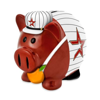 Houston Astros Resin Piggy Bank