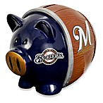 Milwaukee Brewers Resin Piggy Bank