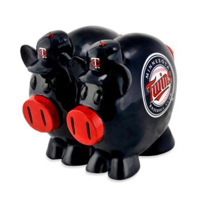 Minnesota Twins Resin Piggy Bank