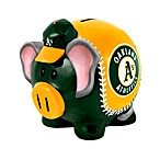 Oakland Athletics Resin Piggy Bank