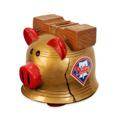 Philadelphia Phillies Resin Piggy Bank