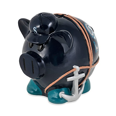 Seattle Mariners Resin Piggy Bank