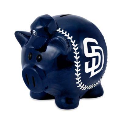 San Diego Padres Resin Piggy Bank