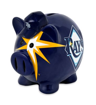 Tampa Bay Rays Resin Piggy Bank