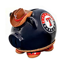 Texas Rangers Resin Piggy Bank