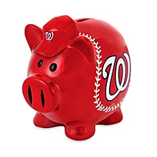 Washington Nationals Resin Piggy Bank