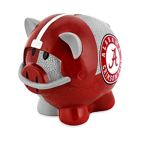 Buy university of alabama resin piggy bank from bed bath beyond - Resin piggy banks ...