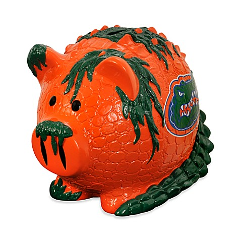 University of Florida Resin Piggy Bank