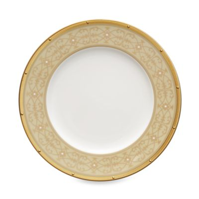 Noritake® Rochelle Gold Accent Plate