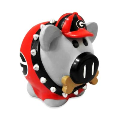 University of Georgia Resin Piggy Bank