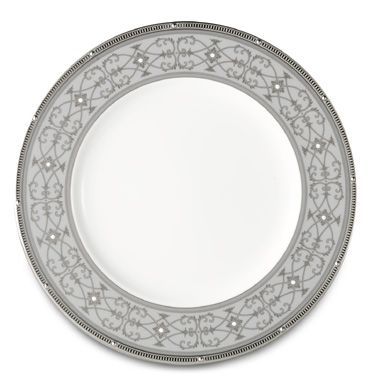 Noritake® Rochelle Platinum Accent Plate