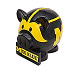 University of Michigan Resin Piggy Bank