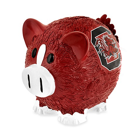 Buy university of south carolina resin piggy bank from bed bath beyond - Resin piggy banks ...