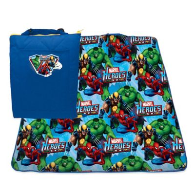 Marvel Heroes Zip Up Activity Mat