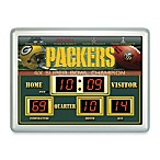 Green Bay PackersIndoor/Outdoor Scoreboard Wall Clock