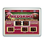 Washington Redskins Indoor/Outdoor Scoreboard Wall Clock