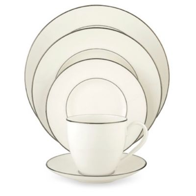 Lenox® Continental Dining™ Platinum 5-Piece Place Setting