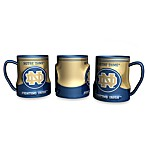 Notre Dame 20-Ounce Sculpted Team Coffee Mug