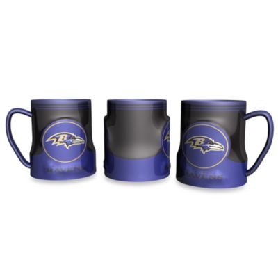 Baltimore Ravens 20-Ounce Sculpted Team Coffee Mug