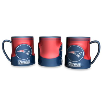 New England Patriots 20-Ounce Sculpted Team Coffee Mug