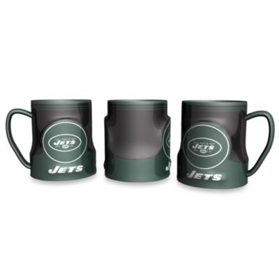 NY Jets 20-Ounce Sculpted Team Coffee Mug
