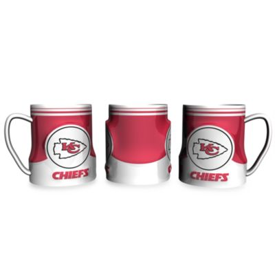 Kansas City Chiefs 20-Ounce Sculpted Team Coffee Mug