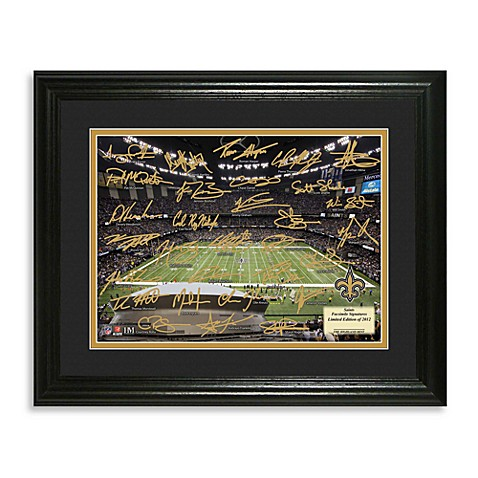 Grid Iron New Orleans Saints Frame