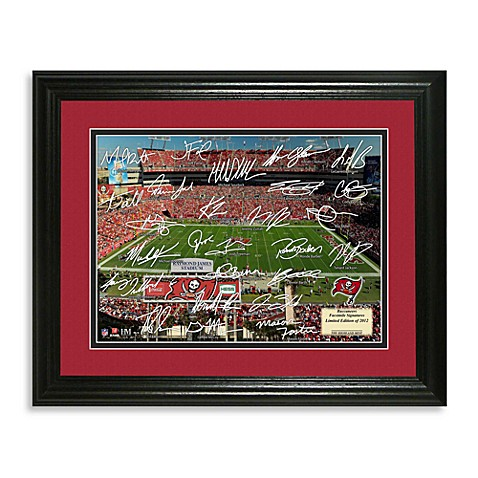 Grid Iron Tampa Bay Buccaneers Frame