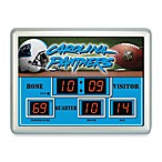 Carolina PanthersIndoor/Outdoor Scoreboard Wall Clock