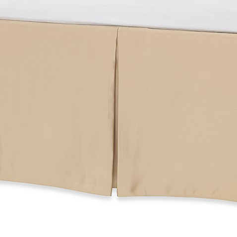 Barbara Barry Glamour Bed Skirt - Golden Hills