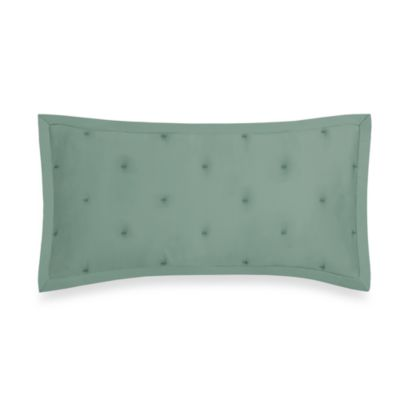 DKNY City Silk Oblong Toss Pillow in Marine